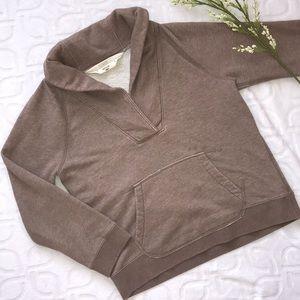 J. Crew Distressed Pullover Sweatshirt Size Medium